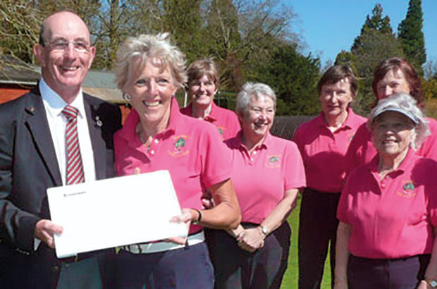 Glos ladies win Trust competition