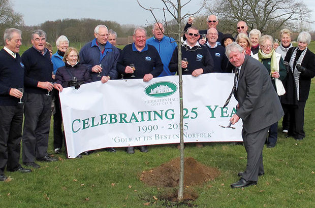 Middleton Hall GC celebrates in style as 25th anniversary arrives