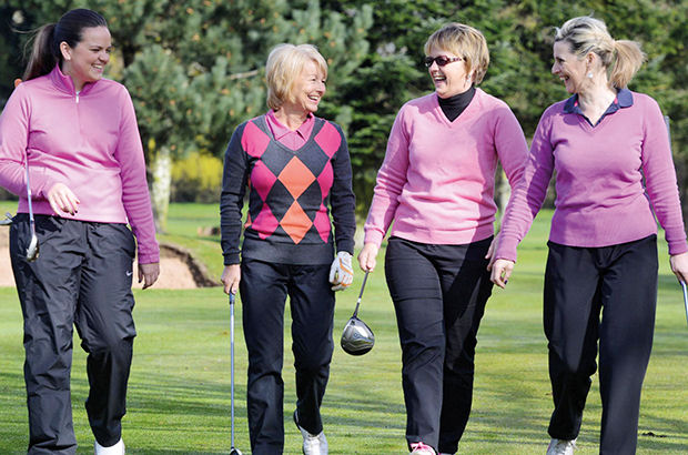 Ladies\' golf goes \'from strength to strength\' as academy opens