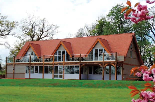 New clubhouse for \'par 3\' host venue Nailcote Hall
