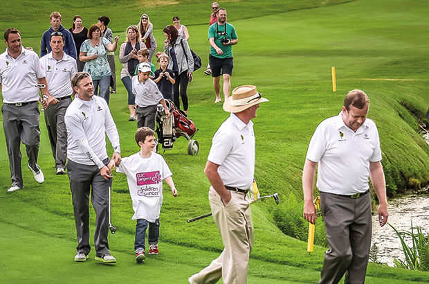 St Mellion golfers compete incredible 24-hour challenge