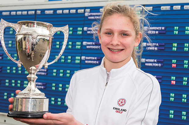 Treble success for Price after Scots Girls\' Championship win
