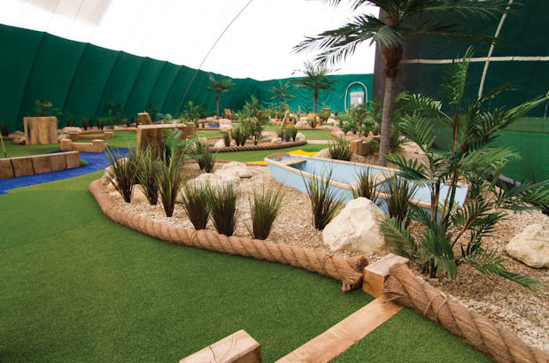 Unique new indoor golf facility opens for business in Hartlepool
