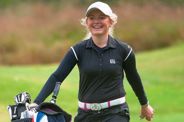 Teenage star giving her support to Cheshire's 'Get into golf' campaign