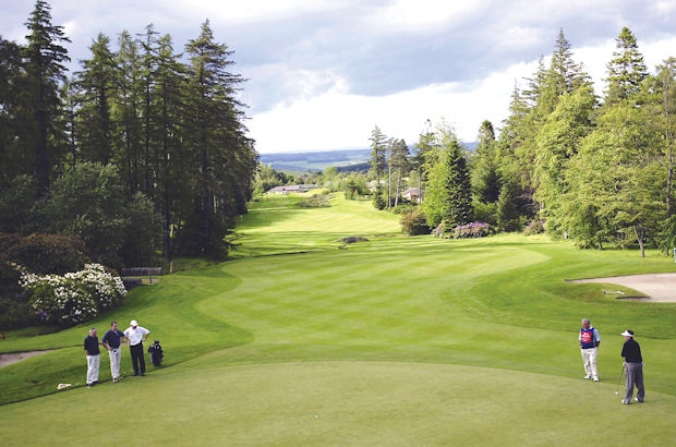 Slaley Hall date for top pros.  PGA Championship set for Northumberland