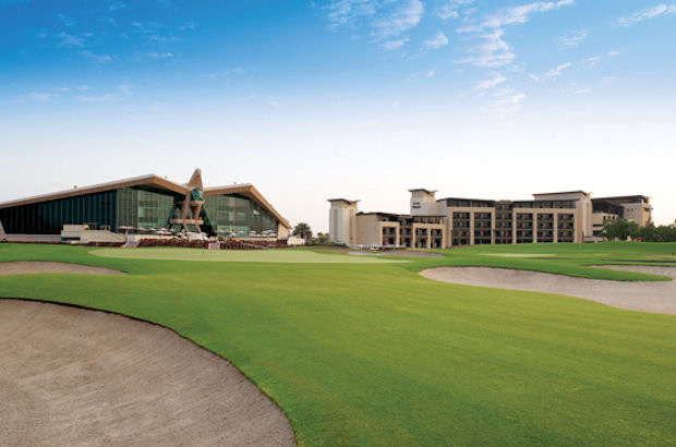 Summer sun and golf in Abu Dhabi
