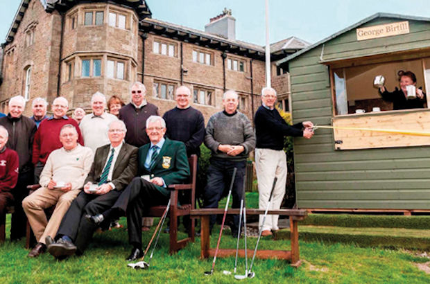 Tea, not tees, for visitors to Chorley GC