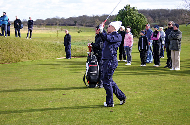 Rising star backs girls golf scheme