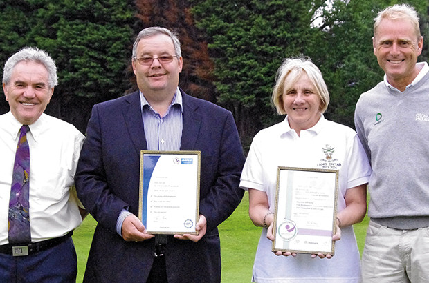 Top mark for Derby Golf Club
