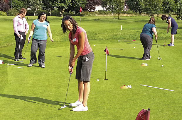 Golf Month is a hit for Staffs