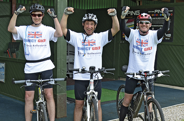 Charity bike ride marks special day