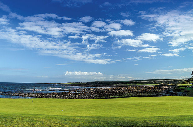 AHEAD of hosting its first major, with this year's Ricoh Women's British Open taking place there from August 3-6, Kingsbarns Golf Links has released details of a series of changes which have taken place both on and off the course over the close season.