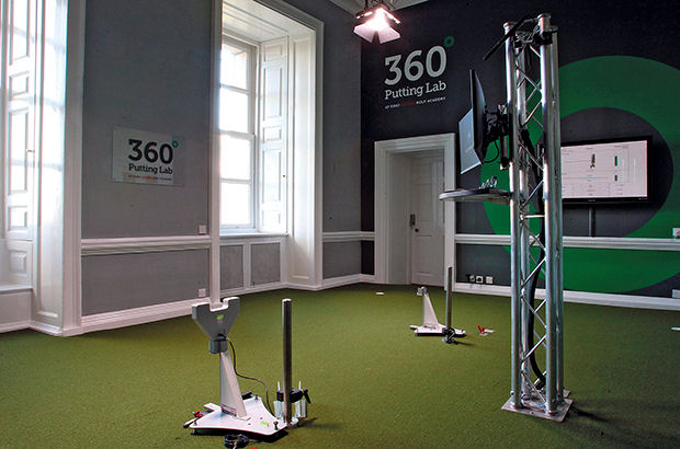 Stunning First Degree Golf Academy facility is one of the few 'elite' studios in the whole of the UK
