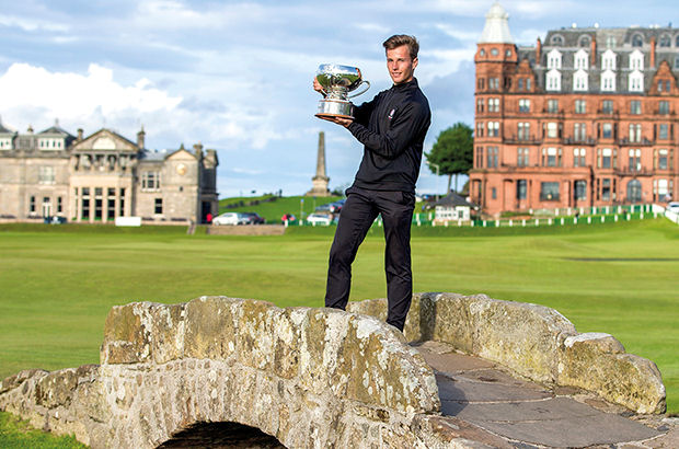 ENGLAND'S Matthew Jordan secured the biggest win of his career to date with a one-shot victory in the St Andrews Links Trophy.