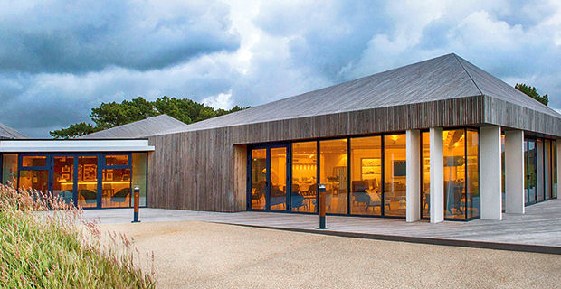 French resort's striking new clubhouse