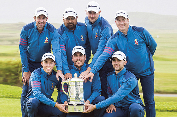 HAMPSHIRE has bridged a 21-year gap to become the English Men's County Champions at Trevose in Cornwall. The side saw off Staffordshire 6½-2½ to win the title for the first time since 1996, when a young Justin Rose was in the team