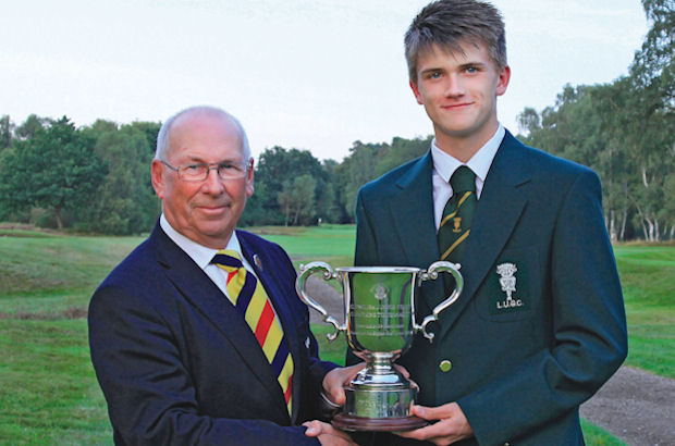 Boys County title goes to Lincolnshire lad