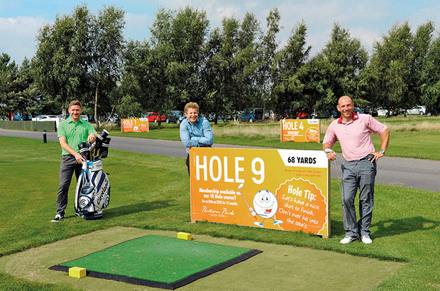 Midlands facility gets new course