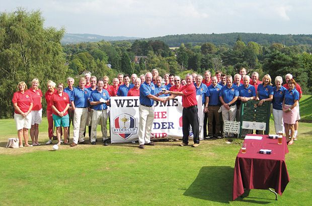 \'Ryder Cup\' event proves a huge hit at Worcestershire club