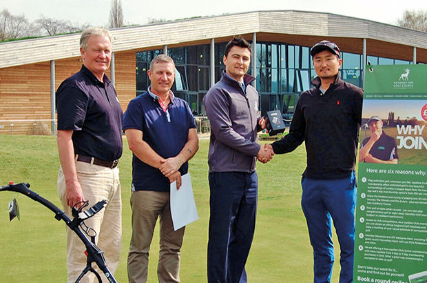 Richmond Park golfer off to Portugal