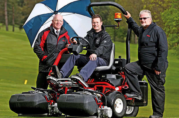 Lely finance benefits for Abergele GC