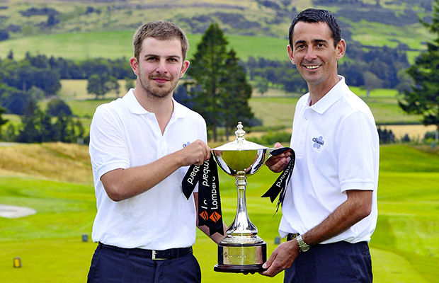 Essex duo 'rock up' to win Lombard Trophy