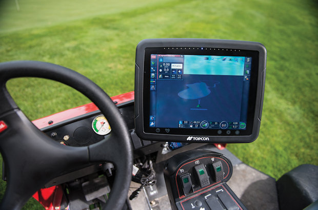 Reesink Turfcare will be bringing a GeoLink Precision Spray System