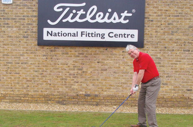 The England Golf and Titleist team-up to reward John