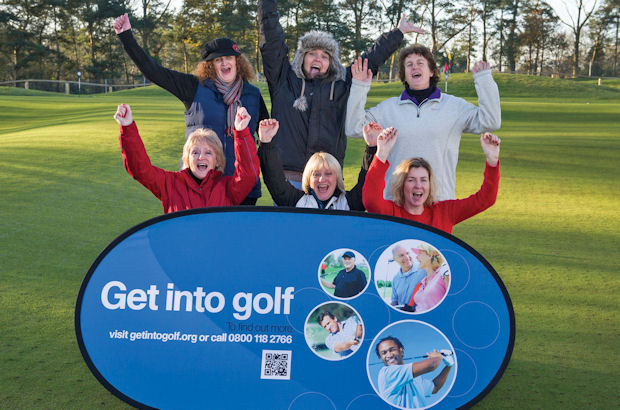 Norfolk ladies take chance to \\\'Get into golf\\\'