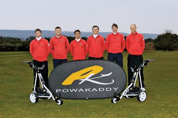 England's top golfers have got 'Powa' with new deal