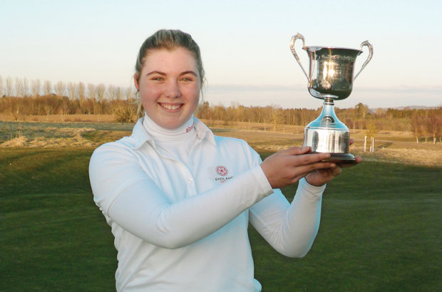 Hewson shines to take Scottish title at Strathmore