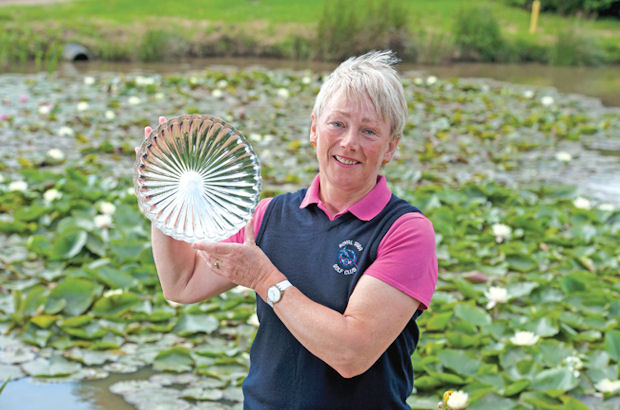 Superb Sue romps to Senior Women\'s victory at Shanklin & Sandown GC