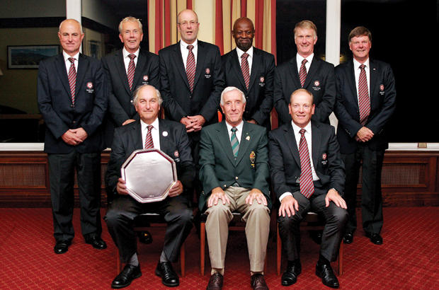Successful defence for England\'s super seniors
