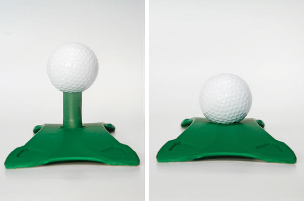 A new way to play golf in winter