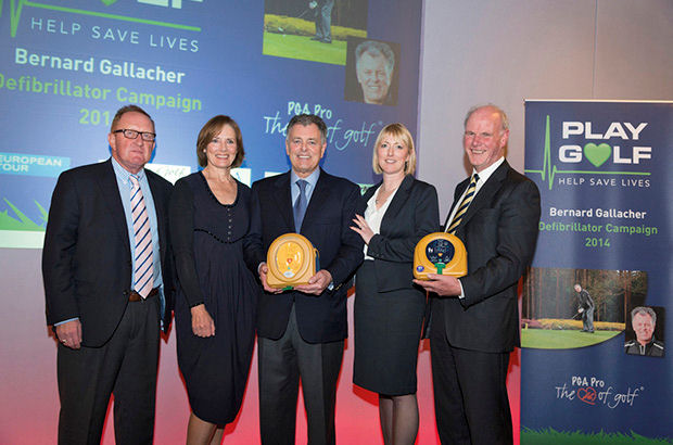 Grateful Gallacher launches new defibrillator campaign