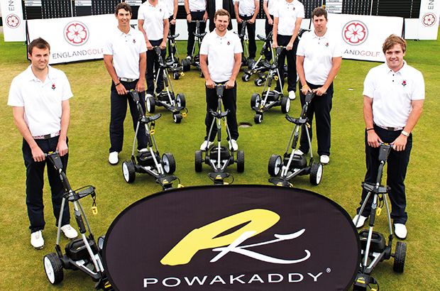 PowaKaddy continues English golf support