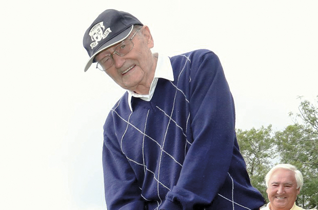 War hero Bill honoured to unveil new Ramside course