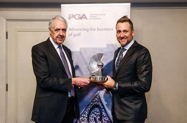 PGA prize for Ryder Cup star Ian