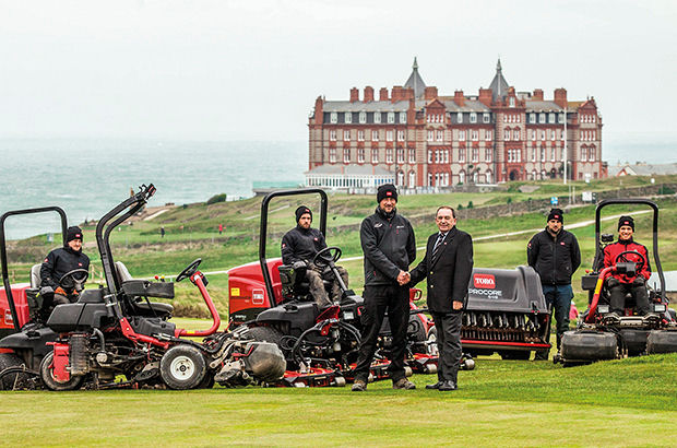 Newquay Golf Club, in Cornwall, has dramatically improved its turf care with the help of Toro.