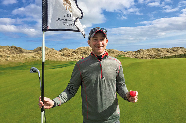 Kent golfer bags hole-in-one double