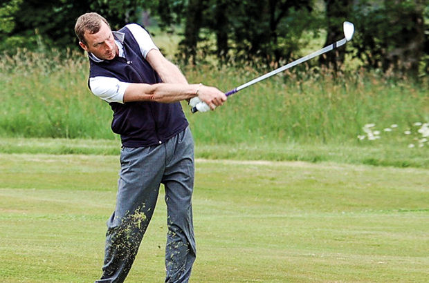 When the Lancashire county golf season now underway, no-one is more relieved than Michael Hunt.