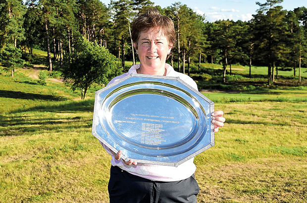English ace Nicholas 'delighted' after winning Women's PGA Professional crown