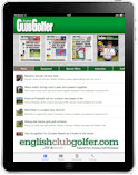 English Club Golfer Online with iPad